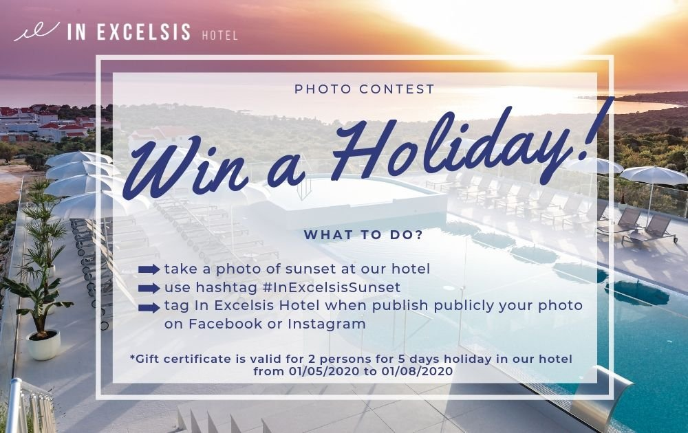 In Excelsis Sunset: Win a Holiday!